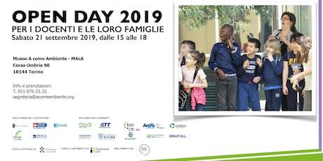 Open Day 2019 biglietti