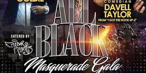 All Black Masquerade Gala