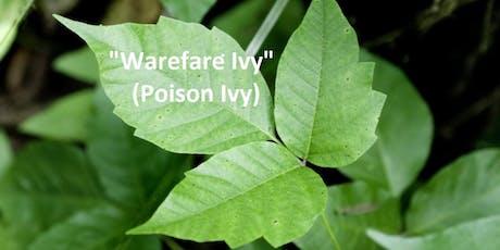 """Warefare Ivy"" (AKA Poison Ivy) - Free Informational Talk tickets"
