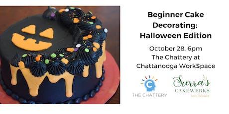 Beginner Cake Decorating:  Halloween Edition tickets
