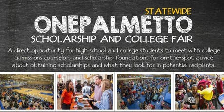 OnePalmetto Scholarship and College Fair (Charleston, SC) tickets