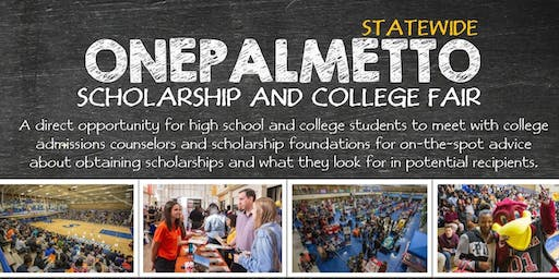 OnePalmetto Scholarship and College Fair (Charleston, SC)