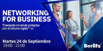 Networking for business. Creciendo mi red de contactos con el idioma inglés
