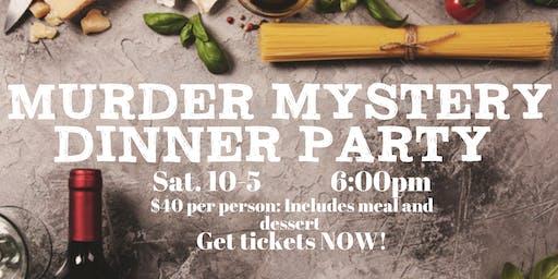 Murdery Mystery Dinner Party