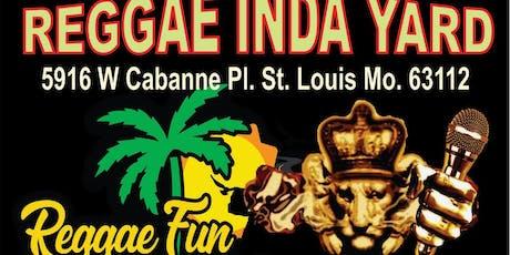REGGAE INDA YARD tickets