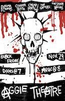 Plasma Canvas w/ Copper Teeth, Cheap Perfume, The Ghoulies, The Sickly Hecks