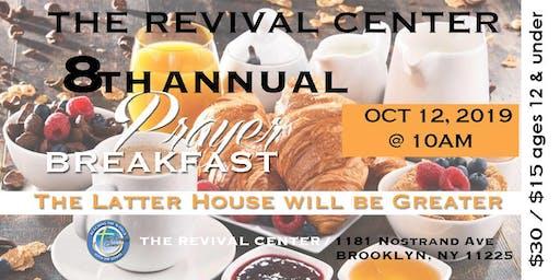 Revival Center 8th Annual Prayer Breakfast