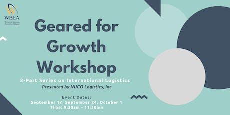 Geared 4 Growth Workshop tickets