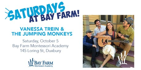 Vanessa Trein and the Jumping Monkeys at Bay Farm Montessori tickets