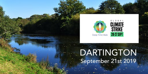Global Climate Strike - Dartington Deep Time Walk