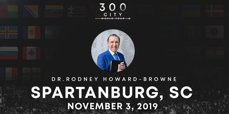 Rodney Howard-Browne in Spartanburg, South Carolina tickets