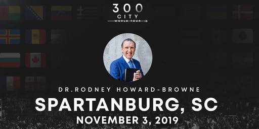 Rodney Howard-Browne in Spartanburg, South Carolina