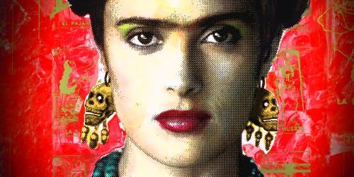"""Proyección  de la película """"Frida"""""""