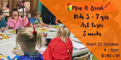 5-7 Year Old Kids 8 week Art Term tickets