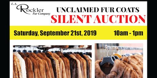 Unclaimed Fur Coats Auction
