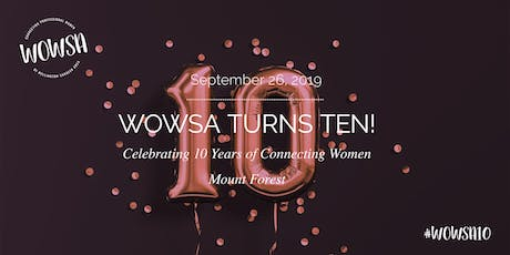 WOWSA Turns Ten! tickets