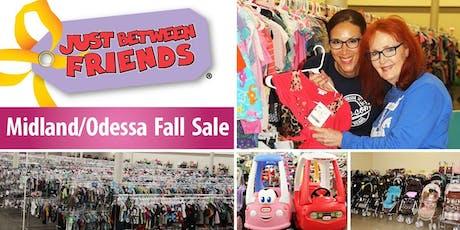 JBF Midland/Odessa Fall '19 - Public Sale (FREE) tickets