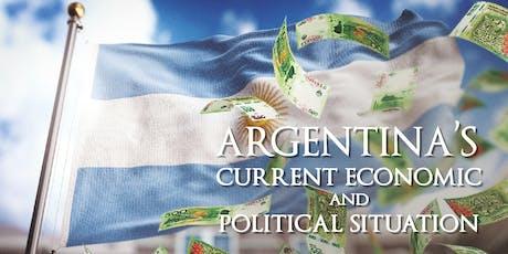 Argentina's Current Economic and Political Situation - Dr. Juan Luis Manzur tickets