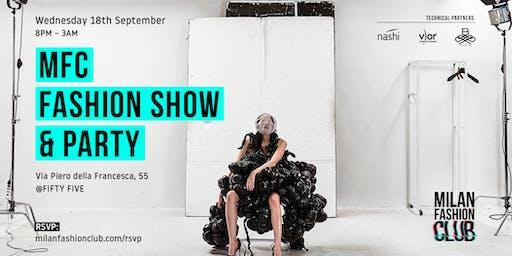 Milan Fashion Week   Milan Fashion Club   Fashion Show & Party