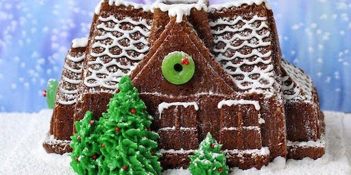 Gingerbread House Decorating with Grandma's