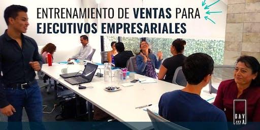 Entrenamiento de Ventas para Ejecutivos Empresariales