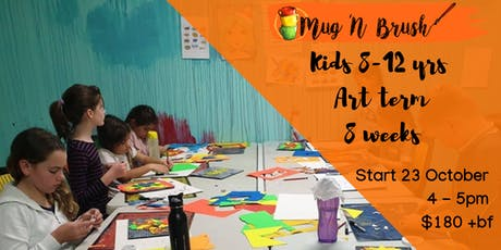 8-12 Year Old Kids 8 week Art Term tickets