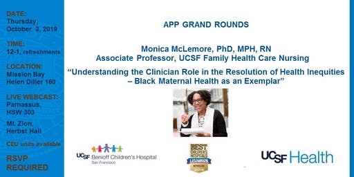 Advanced Practice Provider Grand Rounds