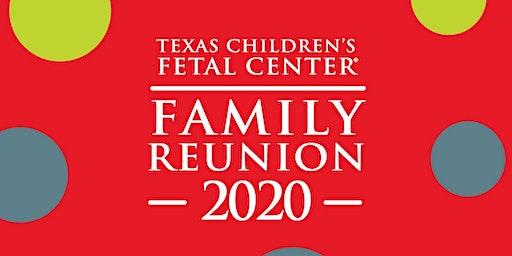 Texas Children's Fetal Center 2020 Family Reunion
