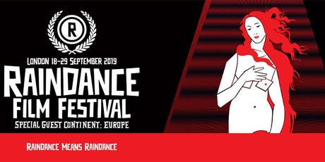 Raindance Film Festival 5 Film Carnet tickets