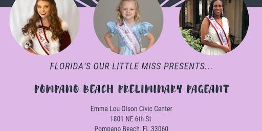 2019 Pompano Beach Beauty Preliminary Pageant