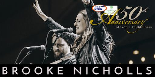"Brooke Nicholls Live - Celebrating the 50th Anniversary of ""Camp Shalom"""