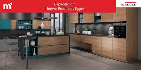 Capacitación Nuevos Productos Egger entradas