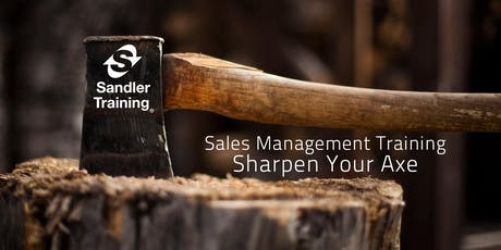 Sales Management Training - Sharpen Your Axe tickets