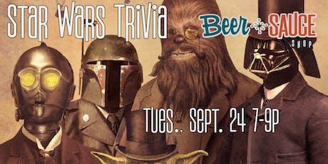 BeerSauce Star Wars Trivia tickets