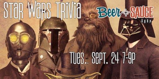 BeerSauce Star Wars Trivia