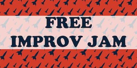 Free Improv Jam tickets
