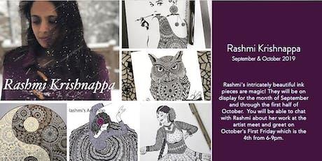 First Friday at The Big Easy NC with Artist  Rashmi Krishnappa tickets