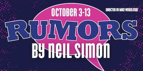 Rumors tickets