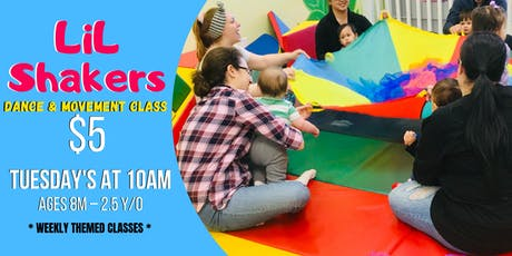 LiL Shakers Dance & Movement Class (Mommy & Me) tickets