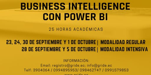 TALLER INTELIGENCIA DE NEGOCIOS EN POWER BI