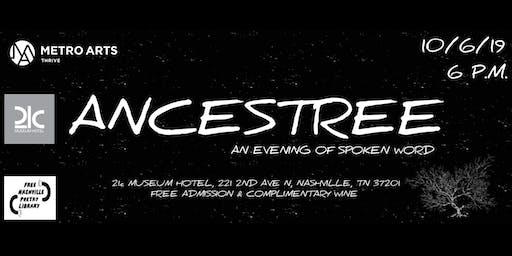 Ancestree: An Evening of Spoken Word