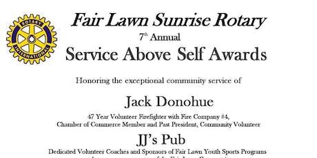 Fair Lawn Sunrise Rotary 7th Annual Service Above Self Awards tickets