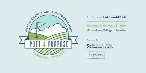 Putt 4 Purpose - Annual Charity Mini-Golf Tournament