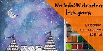 Kids Wonderful Watercolour For Beginners