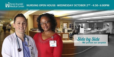 Nursing Open House  October 2nd 2019 4:30pm-6:00PM   tickets