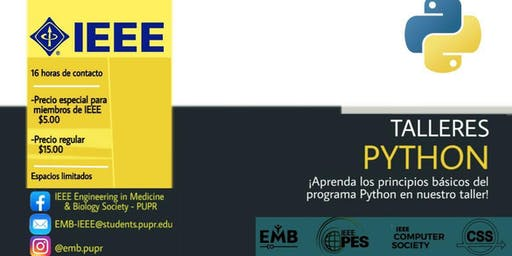 IEEE Python Workshop