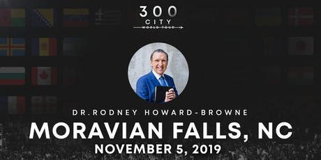 Rodney Howard-Browne in Moravian Falls, North Carolina tickets