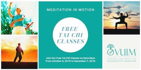 Free Tai Chi Classes at Virginia University of Integrative Medicine tickets