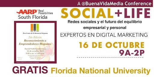 Social+Life: Redes Sociales y el Equilibrio Empresarial y Personal