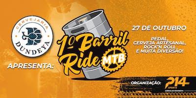 1° Barril Ride MTB - Cervejaria Dundeya